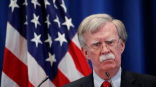 جان بولتون مشاور امور امنیت ملی رئیس جمهوری آمریکا