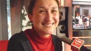 Íngrid Arriaga en RFI