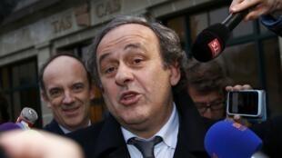 El presidente suspendido de la UEFA, Michel Platini. Archivo.