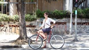 Marina Kohler Harkot, vítima de atropelamento aos 28 anos, no último dia 8, em São Paulo. (arquivo pessoal)