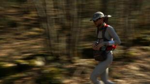 Chercheur à l'INRIA et ultra-marathonien équipé de capteurs