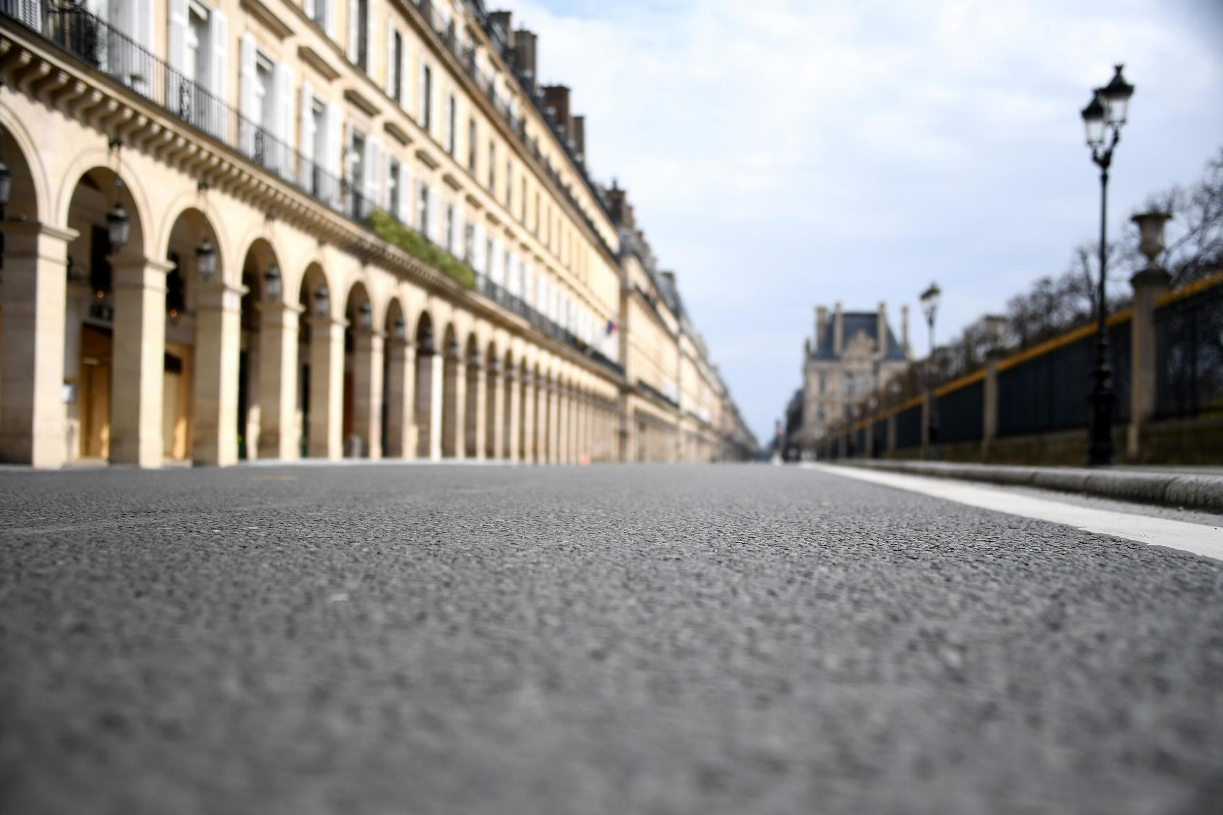 Usually bumper-to-bumper with traffic, Paris's rue de Rivoli will be off limits to general motorised traffic.