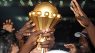 Troféu de vencedor do CAN.