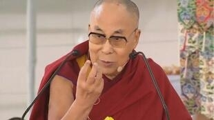 西藏宗教領袖達賴喇嘛。