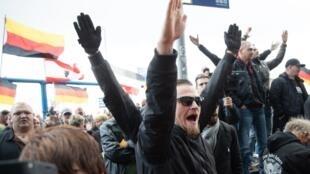 تظاهرات پوپولیستهای راست افراطی آلمان