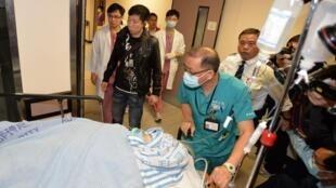 明报前总编辑刘进图遭袭击被砍6刀