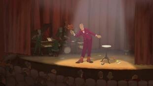 """Cena do filme """"O Ilusionista"""", de Sylvain Chomet, que será exibido no Mon Premier Festival"""