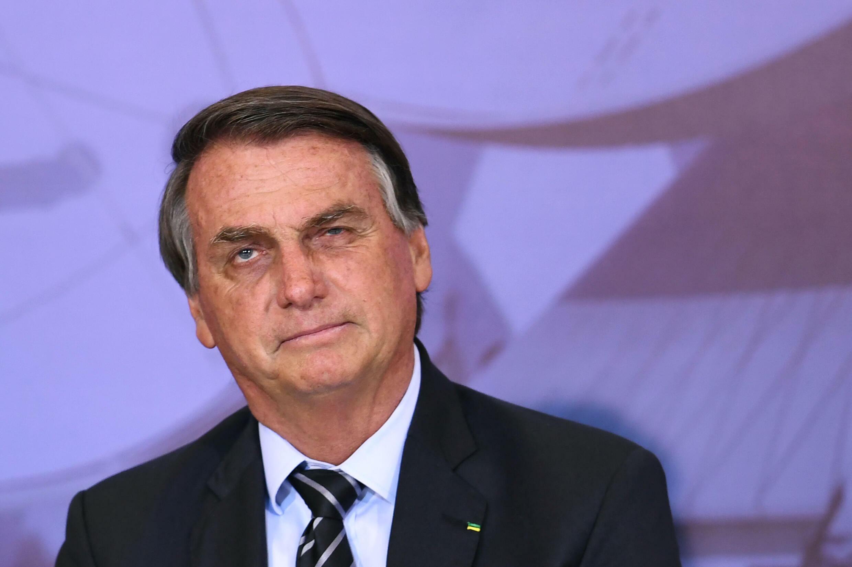 El presidente brasileño, Jair Bolsonaro, fotografiado en Brasilia en septiembre de 2021, enfrenta críticas de los demócratas estadounidenses por sus comentarios sobre la democracia.