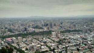 Santiago, la capitale du Chili (Photo d'illustration).
