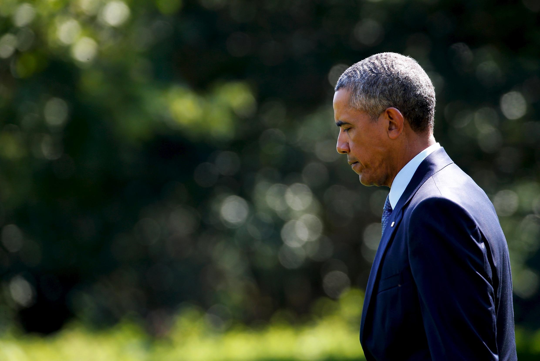 Президент США Барак Обама (архив), 24 августа 2015.