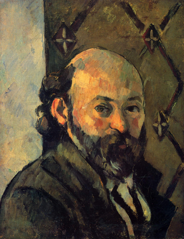 Chân dung tự họa Paul Cézanne (khoảng 1880-1881) trưng bày tại The National Gallery, Anh.