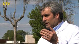Alain Tyrode, médecin-directeur des centres municipaux de santé Présentation du futur Centre municipal de santé de Gennevilliers.