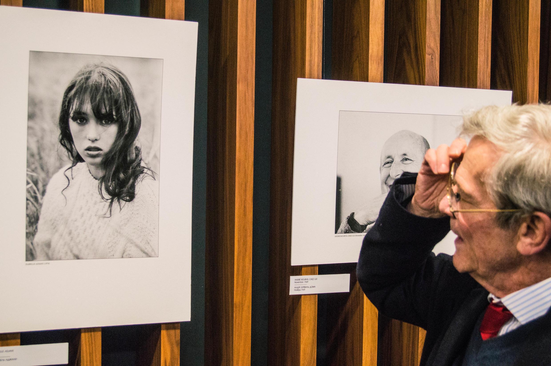 Андре Перлштейн привез в Минск цикл из 28 черно-белых фотографий под названием «Кино 70-х и не только»