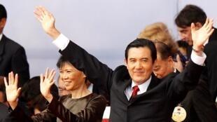 Tổng thống Đài Loan Mã Anh Cửu vừa đắc cử nhiệm kỳ hai (Reuters)