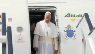 پاپ فرانسوا رهبر کاتولیکهای جهان، جمعه ۲۸ آوریل وارد مصر شد.