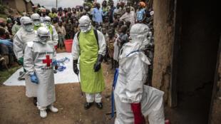 O último surto de ebola terminou no ano passado, no Congo. Foto de fevereiro de 2020, em Kivu-Norte.