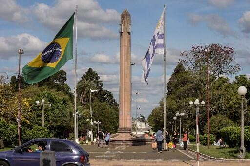 Uruguai fronteira Brasil