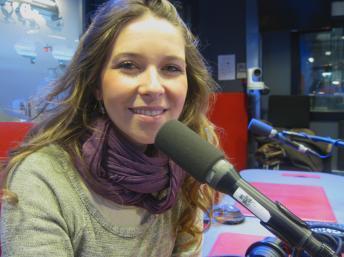 Rocío Márquez en nuestros estudios.