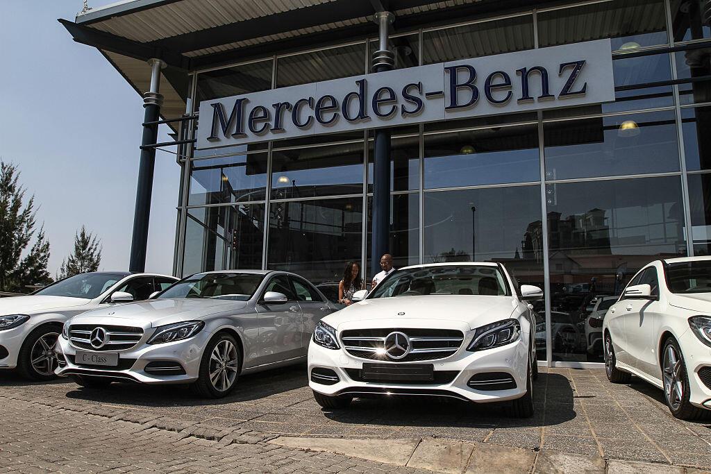 Une concession Mercedes-Benz à Sandton en Afrique du Sud (photo d'illustration).