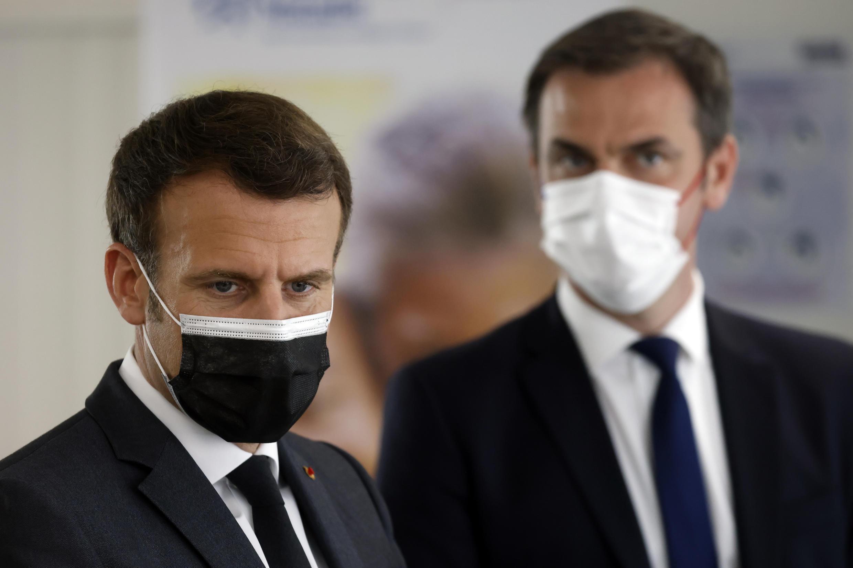 PHOTO Macron Véran - 29 mars 2021