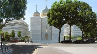 Проект российского культурного центра в Париже