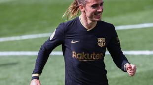 Antoine Griezmann, dan wasan gaban Faransa da Barcelona.