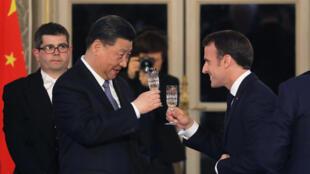 中國國家主席習近平到訪法國2019年3月25日