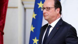 前法國總統奧朗德