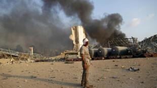 Libano Liban Explosion Explosao