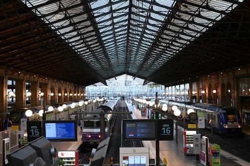Une photo de la gare du Nord prise le 24 septembre 2019.