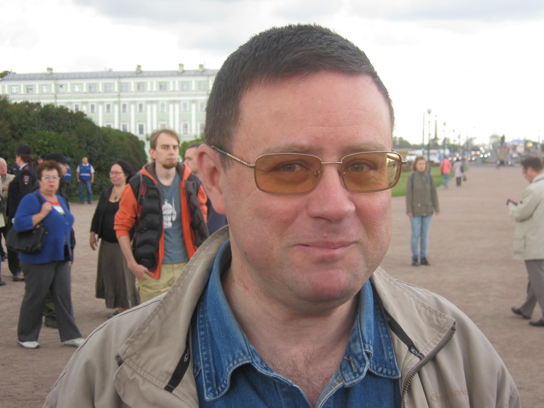Депутат Городского законодательного собрания Санкт-Петербурга Александр Кобринский