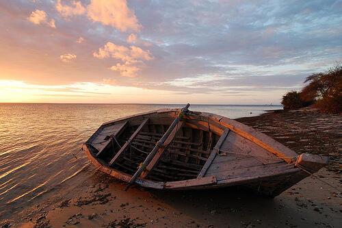 Ilha do Ibo, ao norte de Moçambique.