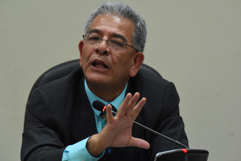 El juez guatemalteco Miguel Ángel Gálvez.