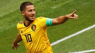 Le Belge Eden Hazard lors de la Coupe du monde 2018.