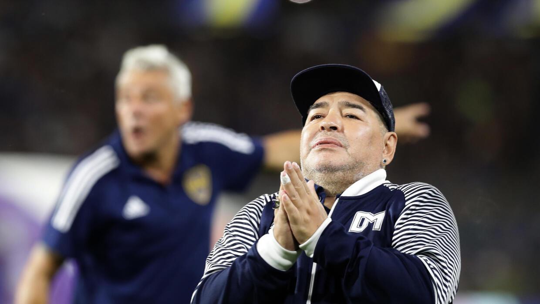 Cómo esta pasando la cuarentena Diego Maradona