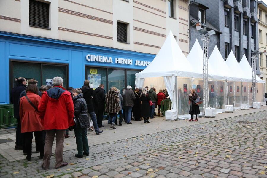 В Онфлере открылся 23-й фестиваль русского кино, 24 ноября 2015 г.