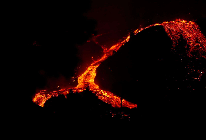 Vulcão Espanha