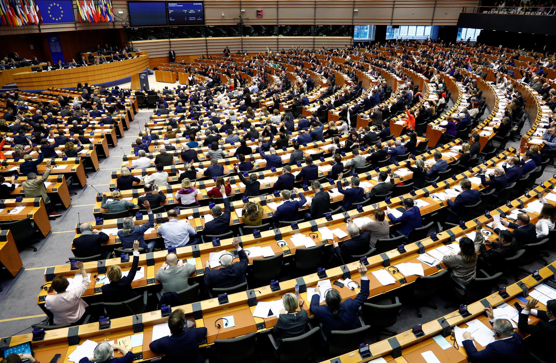 Sesión plenaria de la Eurocámara.