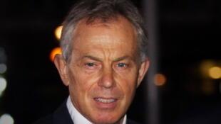 O ex-premiê britânico Tony Blair