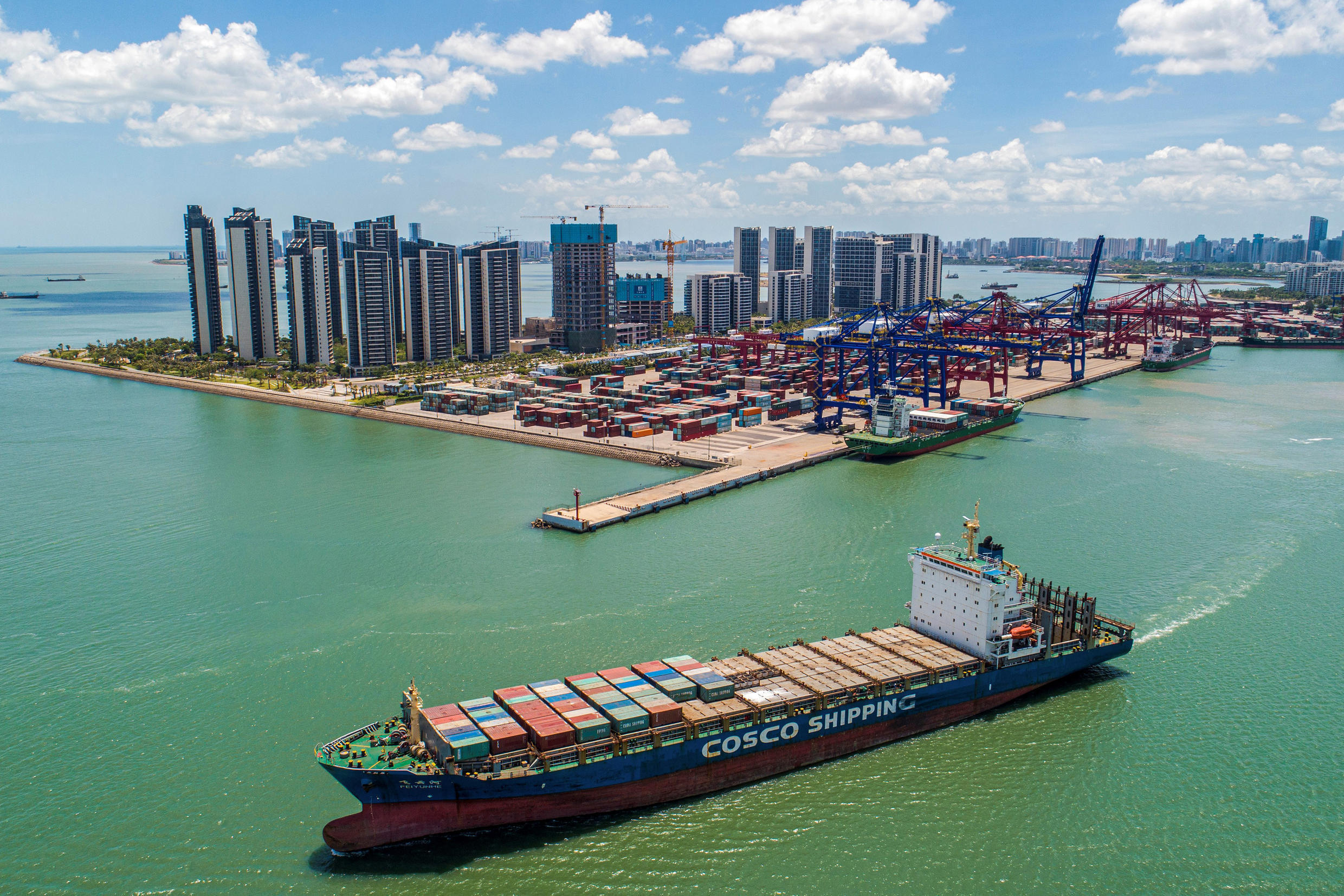 Demand for China's goods has bounced after economically painful lockdowns last year due to the Covid-19 crisis, and as vaccines are rolled out across much of the world