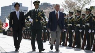 日美防长4月6日在东京举行会谈