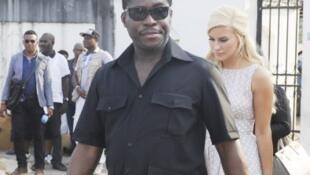 Teodorin Obiang, fils du président de Guinée équatoriale, ici en décembre 2014 à Malabo.