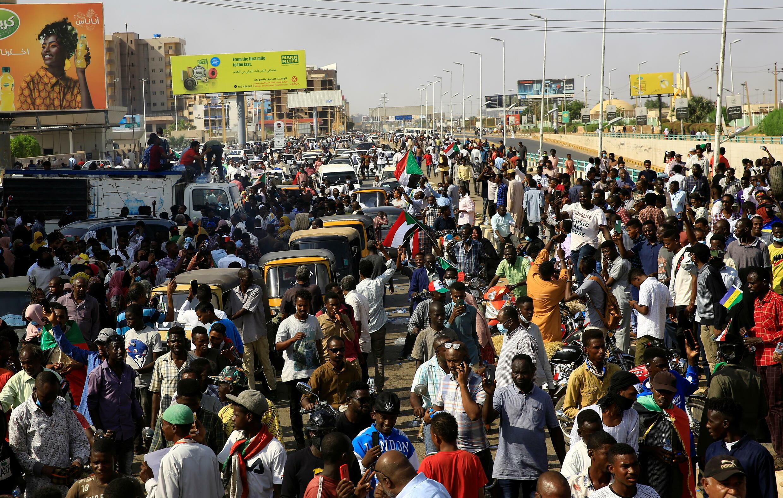 Khartoum Soudan manifestations