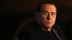Silvio Berlusconi à Rome en novembre 2013.