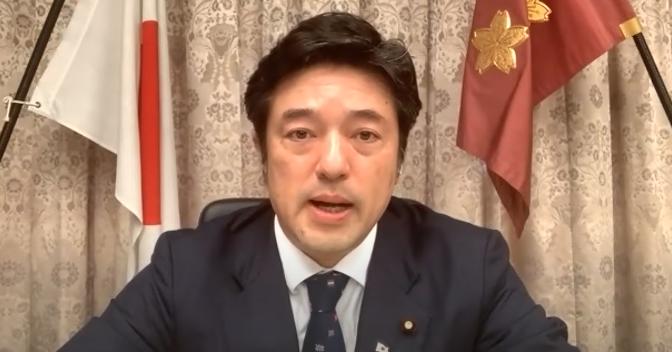 日本防衛副大臣中山泰秀資料圖片