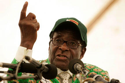 Police are seeking to charge the two activists with insulting President Robert Mugabe.