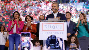 Ivan Duque, eleito Presidente da Colômbia