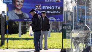 En Croatie, l'élection présidentielle aura lieu de 28 déembre 2014.