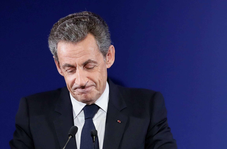 El expresidente francés Nicolas Sarkozy, el 20 de noviembre del año 2016 en París