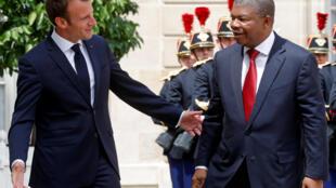 Presidentes francês e angolano analisam ao telefone cooperação ou redução da dívida africana